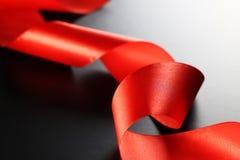svart rött band Arkivbilder