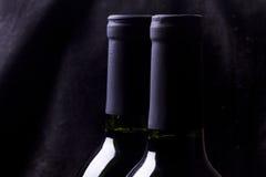 svart rött vin Royaltyfri Foto