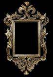 svart ram Royaltyfria Foton
