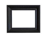 svart ram Fotografering för Bildbyråer