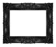 svart ram Royaltyfri Fotografi