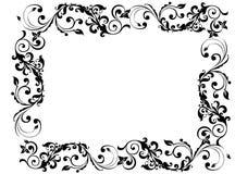svart ram Royaltyfri Bild