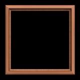 svart ram för bakgrund Royaltyfri Foto