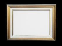 svart ramguld Royaltyfri Fotografi