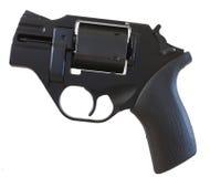 svart revolver Fotografering för Bildbyråer