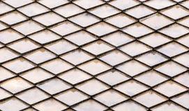 Svart rhombic spjällåda på ändlös modell för vit bakgrund Royaltyfri Foto