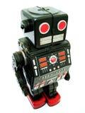 svart robot Royaltyfri Foto