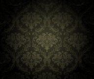 svart seamless wallpaper för bakgrund Royaltyfria Bilder