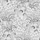 svart seamless white för bakgrund Stock Illustrationer