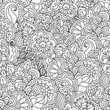 svart seamless white för bakgrund Royaltyfri Illustrationer