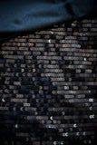 svart sequinsammet Arkivbilder