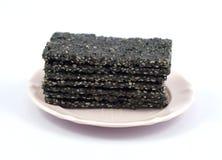 svart sesamsocker Arkivbilder