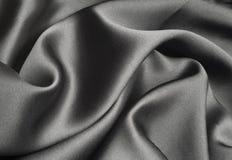 svart silk Fotografering för Bildbyråer