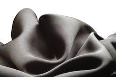 svart silk Arkivbild