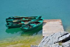 Svart sjö (den Crno jezeroen) - Durmitor Arkivfoto