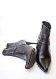 svart sko Royaltyfria Foton