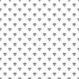 Svart skraj diamantkontur på sömlöst tryck för vit vektor royaltyfri illustrationer