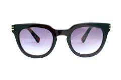 svart solglasögon Fotografering för Bildbyråer