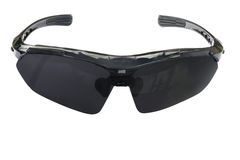 Svart solglasögon som isoleras på en vit bakgrund Royaltyfri Bild