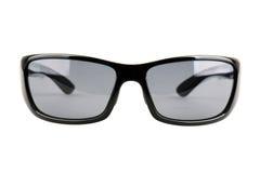 Svart solglasögon som isoleras på vit bakgrund Arkivbilder