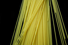 svart spagetti för bakgrund Royaltyfri Bild
