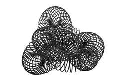 svart spiral royaltyfri foto