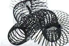 svart spiral arkivfoto