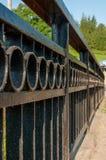 svart staket Royaltyfria Foton