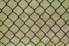 Svart staket Background för kedjesammanlänkning fotografering för bildbyråer