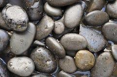 svart sten Royaltyfri Foto