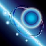 svart stjärna abstrakt vektor för avstånd för bakgrundsdesign eps10 Fotografering för Bildbyråer
