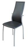 svart stol royaltyfria bilder