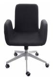 svart stolskontor Royaltyfri Fotografi