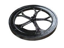 svart svänghjul Royaltyfri Bild