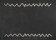 Svart svart tavla, svart tavlatextur med kopieringsutrymme kunskap Royaltyfri Foto