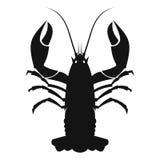 Svart symbol för cancer vektor illustrationer