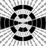 Svart symbol för för strålöverföringstorn eller spotter på den vita bakgrunden Vektor Illustrationer