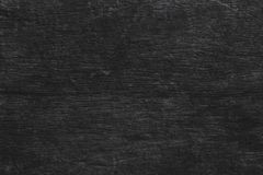 Svart tabellbakgrund för trä, bästa sikt för mörk textur, utrymme grått l royaltyfria bilder