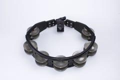 svart tamburin Royaltyfria Bilder