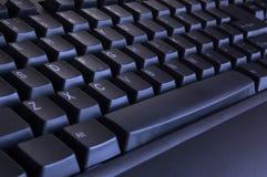 svart tangentbord arkivfoto