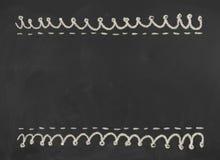 svart tavla Textur med kopieringsutrymme Royaltyfri Fotografi