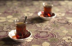 Svart te från Black Sea Arkivfoto