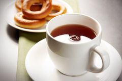 svart tea Royaltyfria Foton