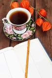 svart tea Royaltyfria Foton