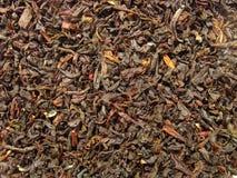 svart tea för closeupearlgrey Arkivfoto