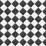svart tegelplattawhite Royaltyfri Foto