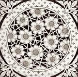 svart tegelplattawhite royaltyfri fotografi