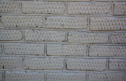 Svart tegelstenvägg Royaltyfri Bild