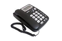 svart telefon Arkivfoton