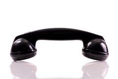 svart telefon royaltyfri bild